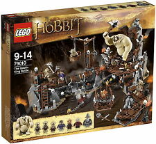 *NEW IN BOX* - LEGO The Hobbit: The Goblin King Battle - 79010 - 841 pieces