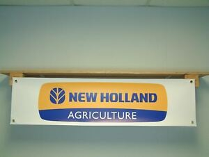 New Holland Banner Agriculture Tractor shed Display pvc poster sign