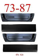73 87 Chevy 4PC Door Skin Bottom & Inner L&R, GMC Truck Blazer, Suburban, Jimmy