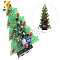 Christmas Tree LED DIY Kit Flashing Light Red Green Flash Circuit LED Suit