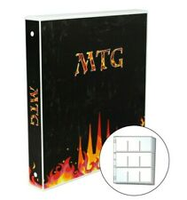 Magic the Gathering Themed Card Case, 25 Pages Included, Holds up to 450 Cards