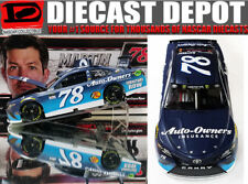 MARTIN TRUEX JR 2017 AUTO OWNERS INSURANCE 1/24 ACTION NASCAR DIECAST IN STOCK