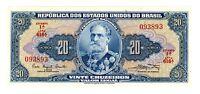 Brazil ... P-168a ... 20 Cruzeiros ... ND(1961-63) ... *UNC*
