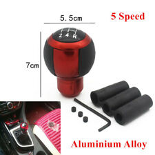 5 Speed Carbon Fiber Round Ball Shape Car Gear Shift Knob Shifter Lever General