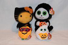 Ty Halloween Beanie Boo's - Hello Kitty Bat, Treats, Mystery, Treatsie - bnwt