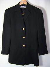Gr.36 PRIVATE LABEL Schurwollblazer Damen-Gehrock Long-Blazer Damen-Sakko Jacket