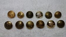 Lot of 12 Royal Canadian Armed Forces Uniform Buttons