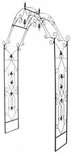 Arbor Garden Southern Charm Steel Arch Backyard Gazebo Trellis Patio Decor New
