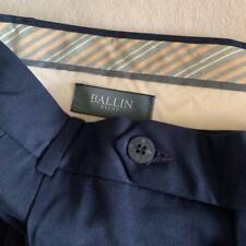 "BALLIN RELAX Navy Microfiber Men's Pants Size 32 x 38"" NWT $89*"
