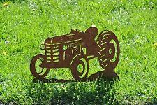 Traktor (Porsche Bulldog Schlüter Lanz Eicher Oldtimer Gartendeko Gartenstecker
