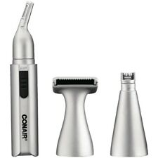 Conair Nose Ear Eyebrow Neckline Cordless Battery Operated Trimming System