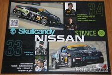 2014 Skullcandy Team Nissan Altima Coupe ST IMSA CTSC blankback postcard