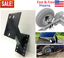 Boat & Utility Enclosed Trailer Spare Tire Mount Carrier Wheel Cargo Holder New
