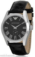 Emporio Armani Classic Analog Black Dial Men's Watch AR0643