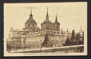 2967.-MADRID -MONASTERIO DE EL ESCORIAL -Vista exterior de la Iglesia