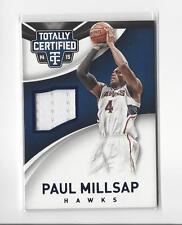 2014-15 Totally Certified Blue #60 Paul Millsap JERSEY Hawks /199