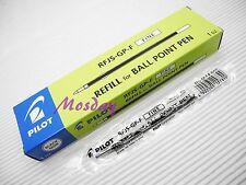 12 Pcs Pilot RFJS-GP-F 0.7mm Fine Ball Point Pen Refills, BLACK