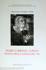 TOPPI MARIA LORENZA LONGO DONNA DELLA NAPOLI... PONTIFICIO SANTUARIO POMPEI 1997