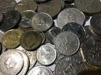 100 Gramm Restmünzen/Umlaufmünzen Brunei
