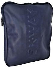 Borsa Borsello Tracolla Unisex Blu K-Way Bag Unisex K-Sleek Flat Crossover Navy