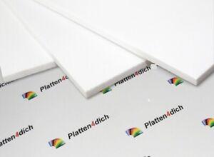 PVC weiß Hartschaumplatten -> 1860mm x 455mm, Dick: 6 mm. Zuschnitt Platte !!