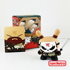 Huck Gee Samurai - Art of War Series - Kidrobot Brand New in Box Vinyl Figure