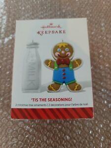 2014 Hallmark Keepsake Ornament TIS THE SEASONING #1 in Series Gingerbread New