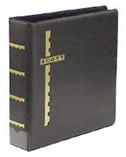 New Scott 3-Ring Cover Album & Pack of 25 Double Sided Black Cover Pages