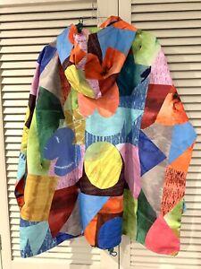"""New! Cute GORMAN """"Colour Drop"""" raincoat coat jacket * size M/L"""