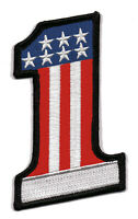 No. 1 USA Aufnäher  Nr. 1 Stars and Stripes US