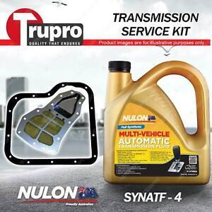 SYNATF Transmission Oil + Filter Kit for Mazda 929 Bravo B 2200 2600 E2000 RX7