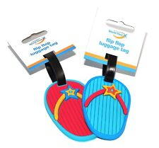 Rubber Silicone Luggage Tags Labels Suitcase Bag Baggage Name Address ID Tag