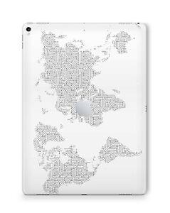 Apple iPad Skin Schutzfolie Aufkleber Design Sticker Folie Skins Weltkarte
