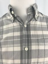 Club Monaco Button Front Shirt Slim Fit Small (S)