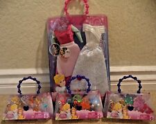 DISNEY PRINCESS CINDERELLA CLOTHES ACCESSORIES SHOES TIARA PURSE NECKLACE *NEW*