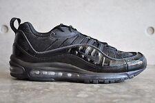 Nike Air Max 98 Supreme - Black/Black-Black