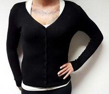 Damen-Pullover & -Strickware ohne Muster mit Knöpfen und S