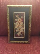 Vintage Magnolia Spray 2 by Barbara Mock - Framed & Matted - From Woolworth