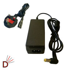 For Toshiba NB250-108 NB520-11V NB520-11W Laptop Power Supply + MAINS CABLE CORD