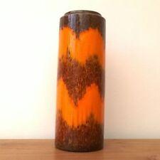 Vases Orange Date-Lined Ceramics (1960s & 1970s)