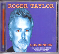 ROGER TAYLOR - SURRENDER LIVE AND ENHANCED CD IMPORT FROM ENGLAND
