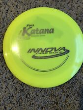 New Innova Pro Katana disc golf yellow