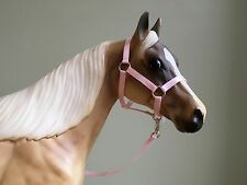 Traditional Scale Baby Pink Model Horse Halter For Breyer