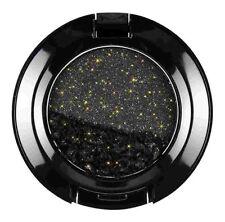 NYX Cosmetics Glam Eye Shadow, Midnight Express (Black With Gold Glitter)