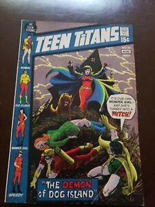 TEEN TITANS #34 FN/VF 1ST PRINT DC COMICS 1971