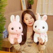35cm/45cm Big Fat Rabbit Plush Animals Toys Stuffed Bunny Pink/White Rabbit Soft