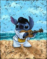 Home Decor Art Print on Canvas Poster Lilo and Stitch Playful Stitch 16X20
