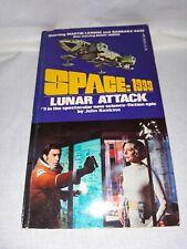 Space 1999: Lunar Attack #5 Novel by John Rankine (1975)