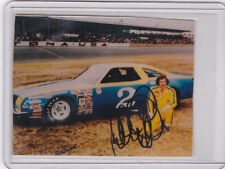 "Dale Earnhardt Sr. Autograph 3.25"" x 2.5"" Photo Daytona 500 Shot PSA/DNA QO"