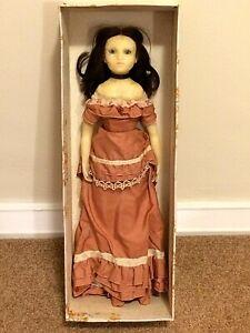 Antique Signed Wax Doll ft. Wax Head, Arms & Legs. Original Clothes & Box